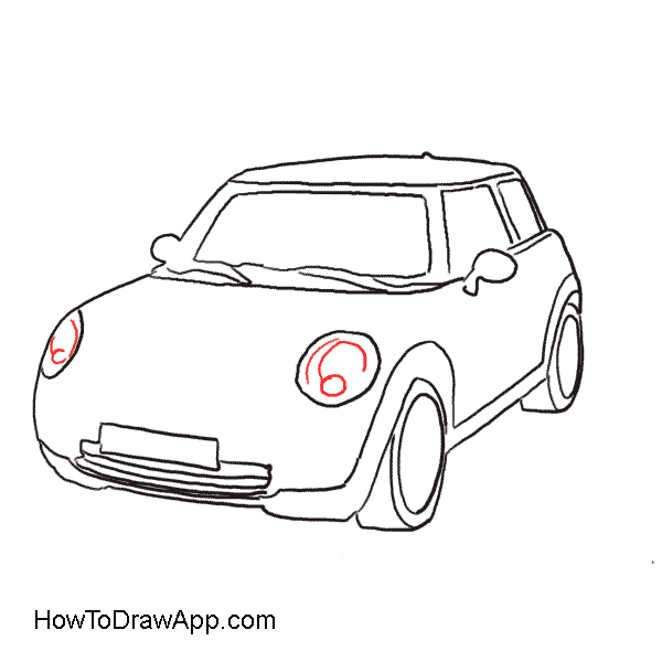 Cadillac Drawing Step By Transparent Clipart Free Download