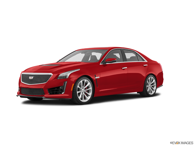 Metallic vector red. New cadillac cts v