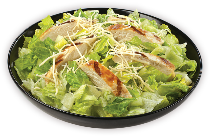 Caesar salad png. Blimpie grilled chicken salads