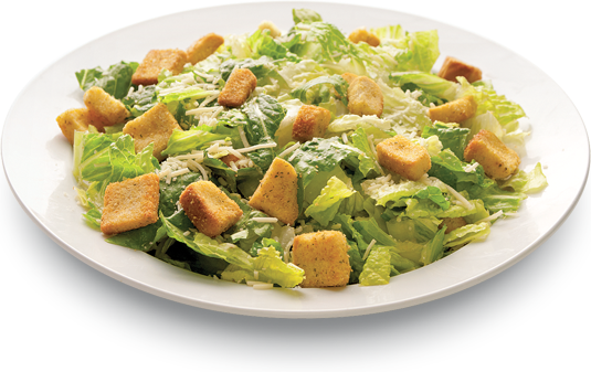 Caesar salad png. Side salads compliment your