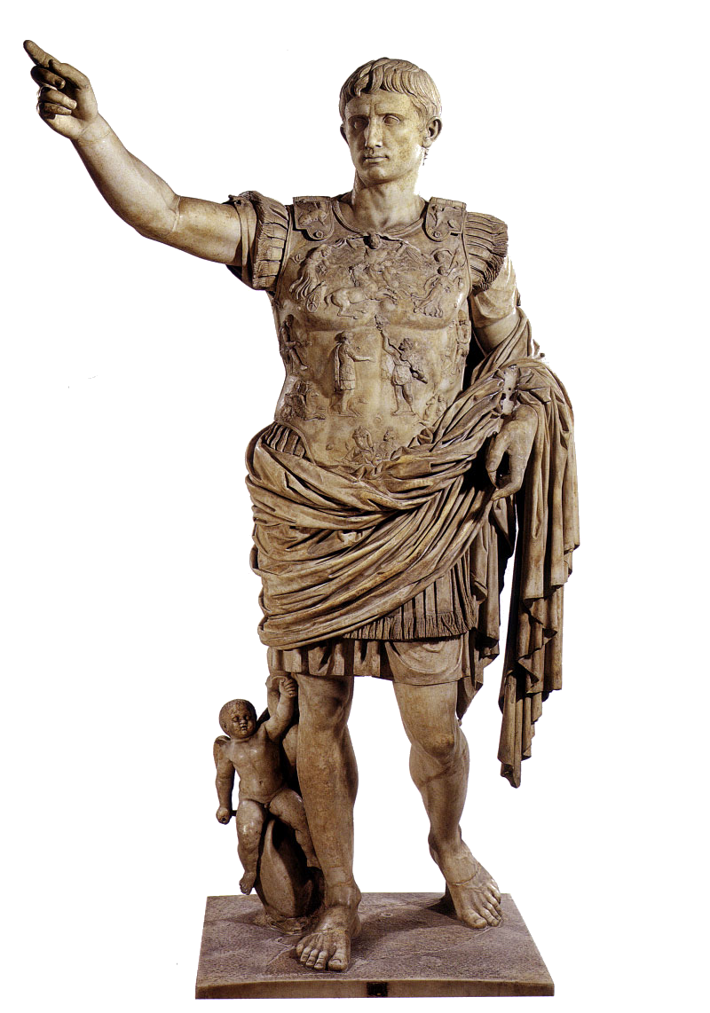 Caesar statue png. Was rome s