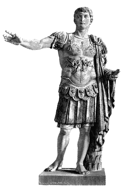Caesar statue png. File germanicus wikimedia commons