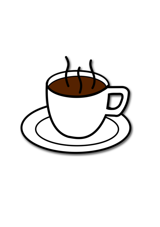 Cup cafe espresso free. Coffee clip hot chocolate jpg black and white