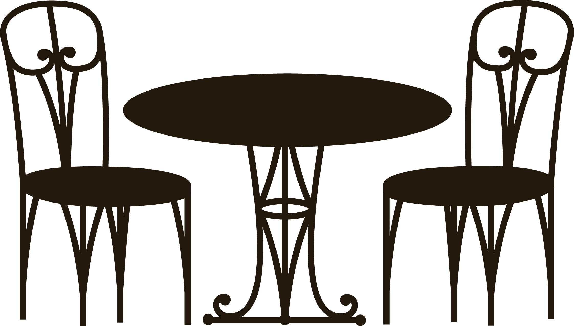 Coffee table cafe transprent. Vector chair kitchen vector royalty free download