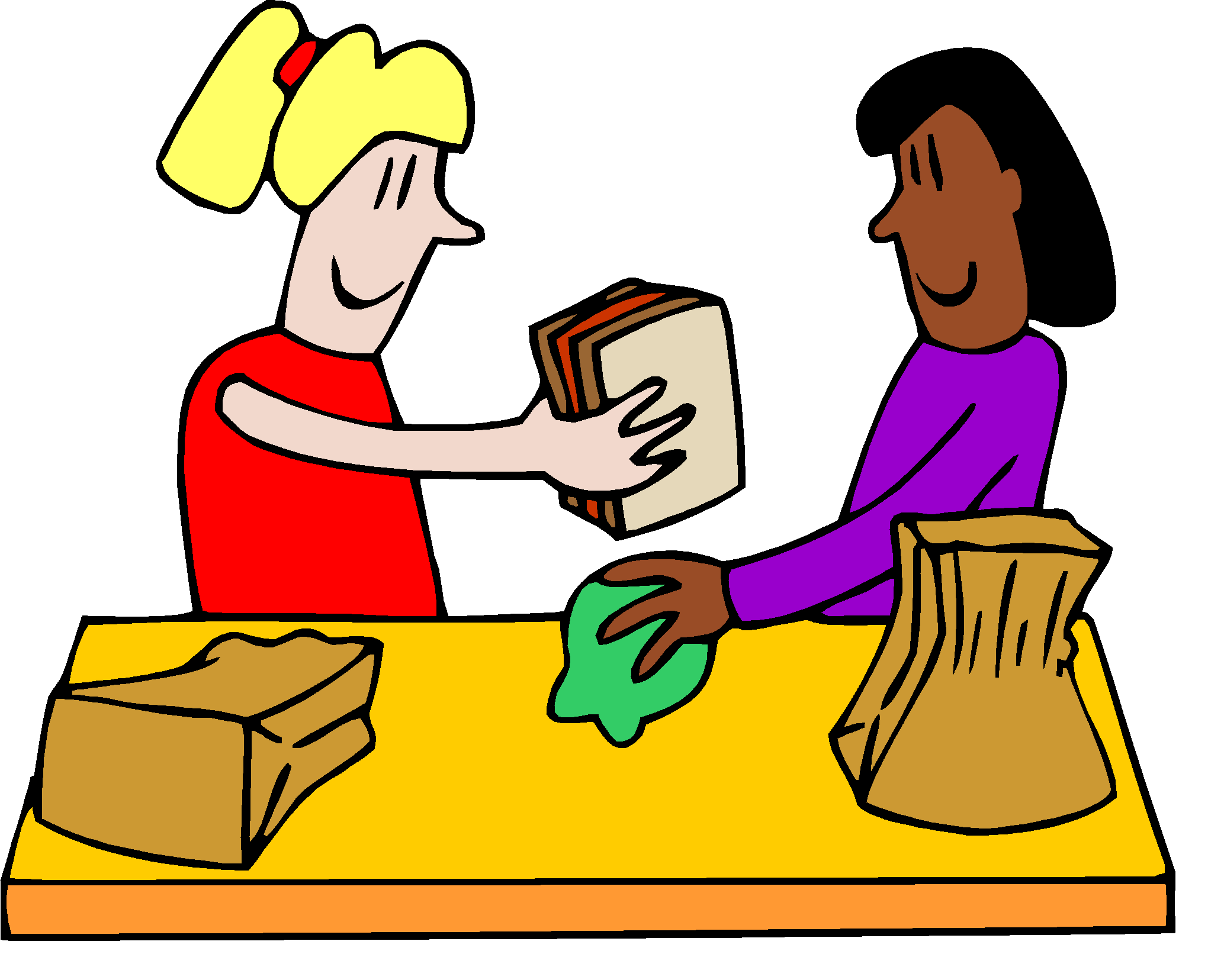 Cafeteria clean up lunch. Sharing clipart clip free download