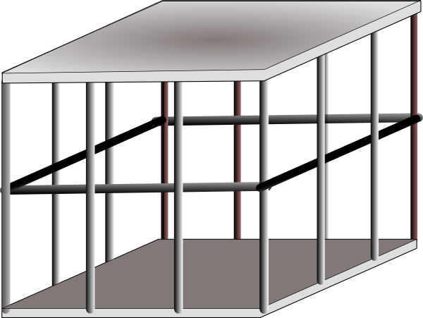 Zoo cage png. Animal clipart