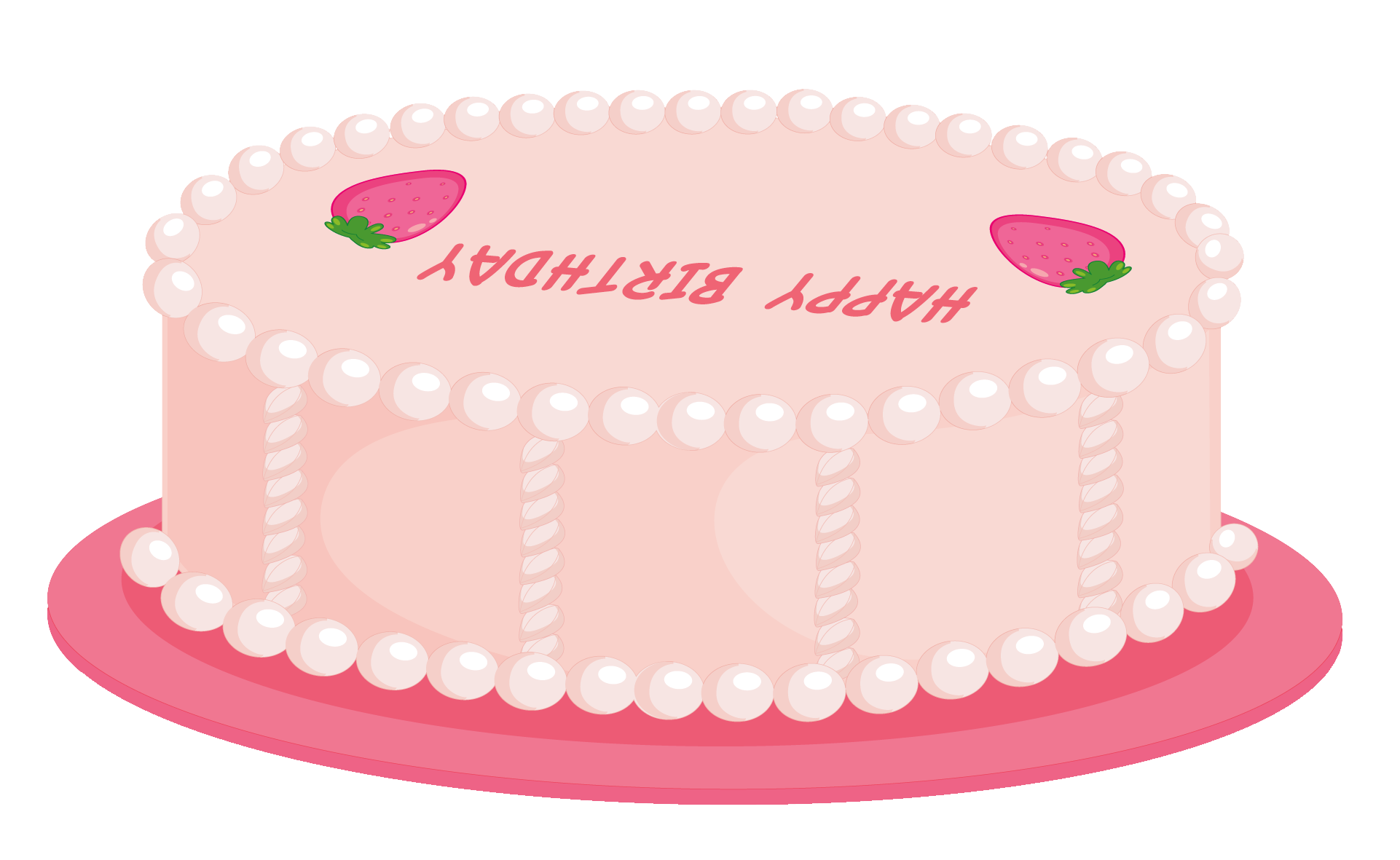 Cake chalkboard png. Pink happy birthday clipart