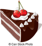 Chocolate and stock illustrations. Cake clipart svg freeuse