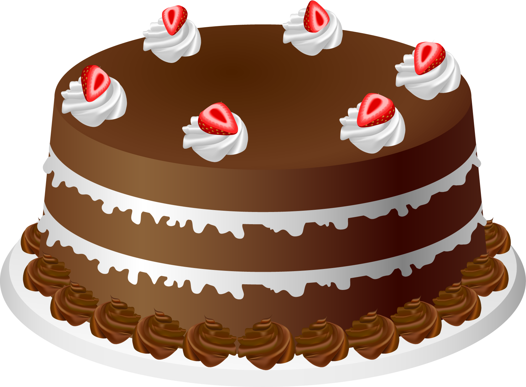 Chocolate . Cake clipart graphic library stock