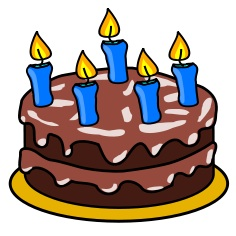 Free birthday change the. Cake clipart cake design clip art black and white library