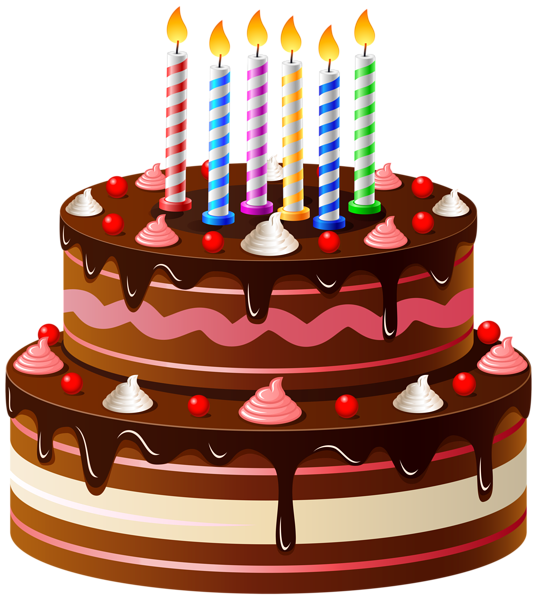 Cake clipart cake design. Birthday png clip art