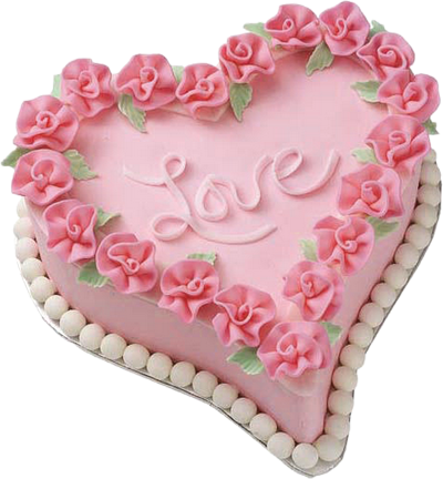 Pink png picture gallery. Cake clipart heart banner library