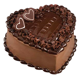 Chocolate png picture gallery. Cake clipart heart svg library library