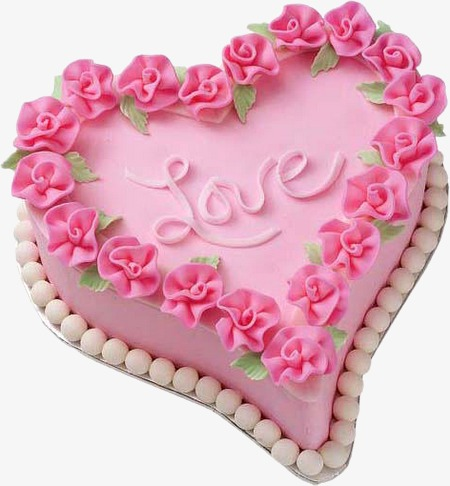 Cake clipart heart. Flowers png image and