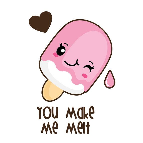 Cake clipart kawaii. Valentine off sale by