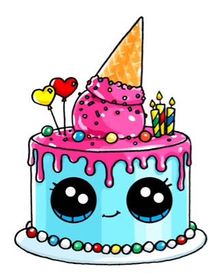 Terrific Cake Drawing Picture 2850856 Cake Drawing Birthday Cards Printable Trancafe Filternl