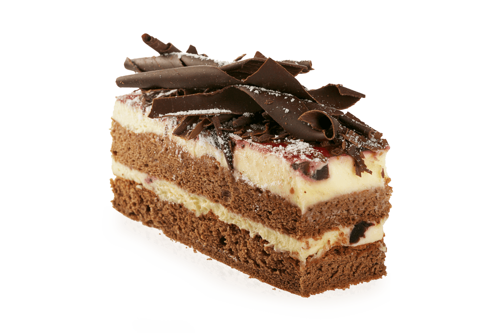 Cake slice png. Chocolate transparent stickpng