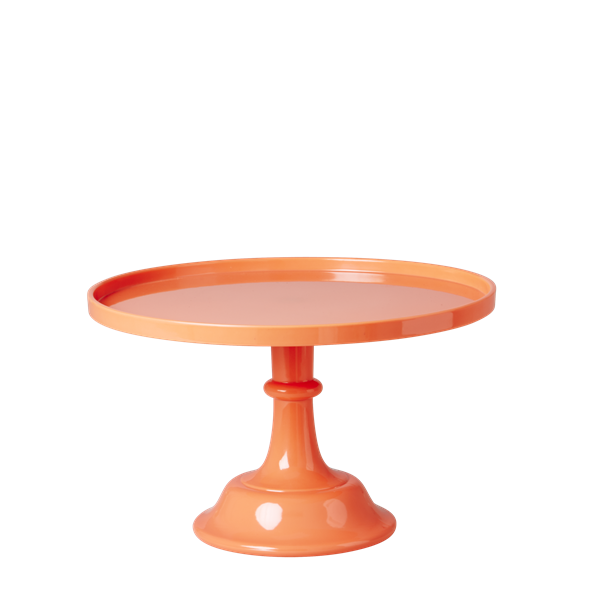 Cake stand png. Neon coral melamine bonjour