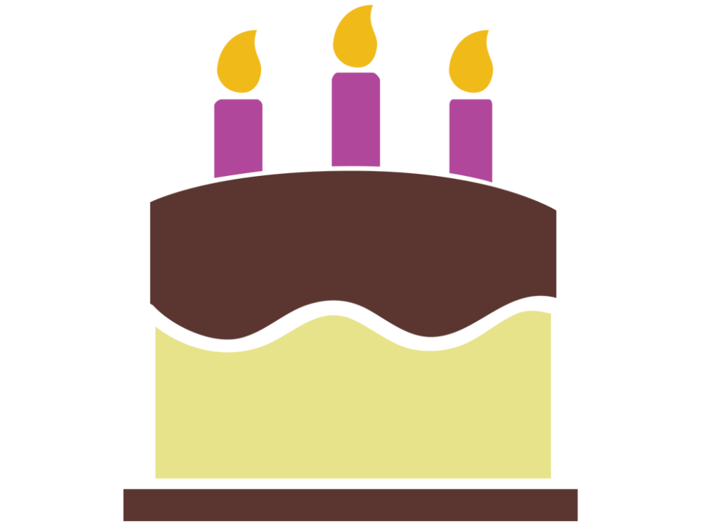 Cake vector png. Free birthday icon download