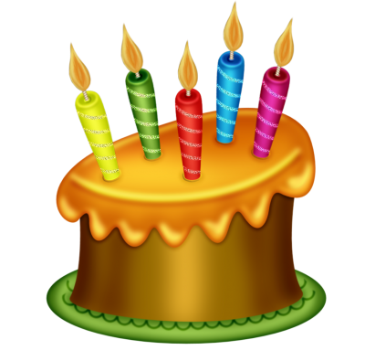 Cake with 2 candles png. Download birthday free transparent