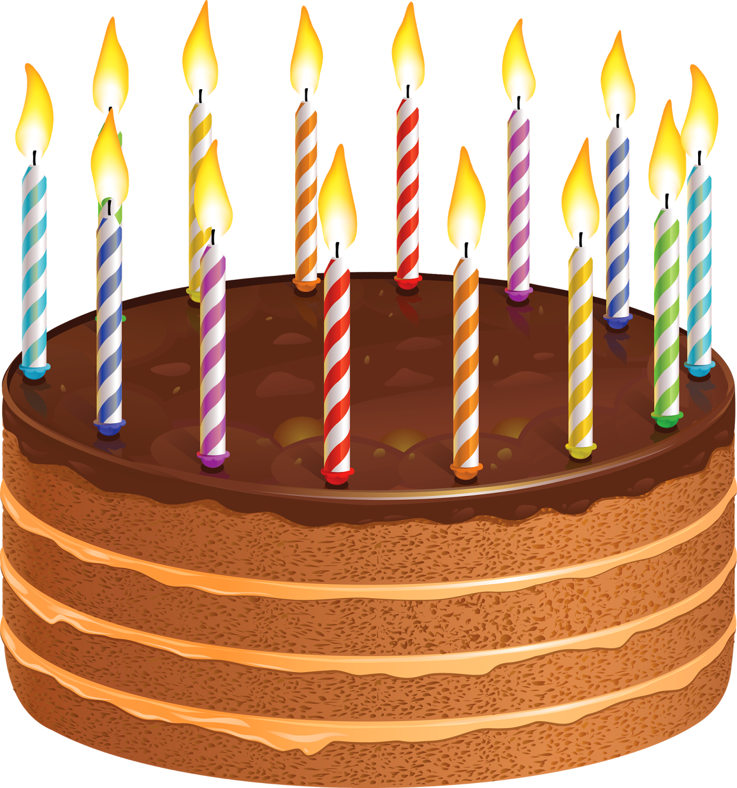 Cake with 2 candles png. Happy birthday wishes greetings