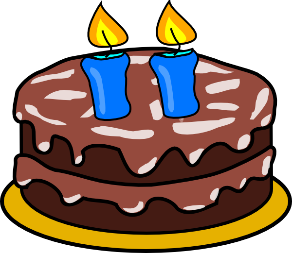 5 candle png. Cake with candles clip