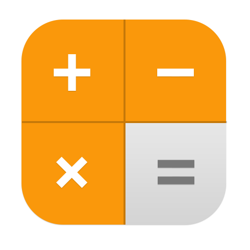 Calculator app png. Icon sevenesque ios inspired