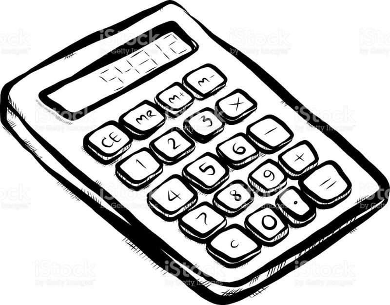 Calculator clipart graphing. Drawing at getdrawings com