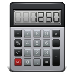 Png calculator. Icon atrous iconset iconleak