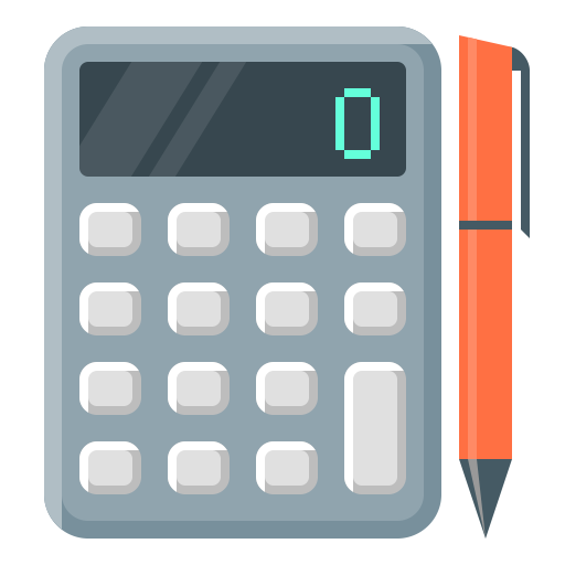 Calculator png icon. Icons for free calculate