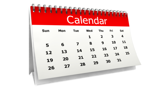 drawing calendar vector