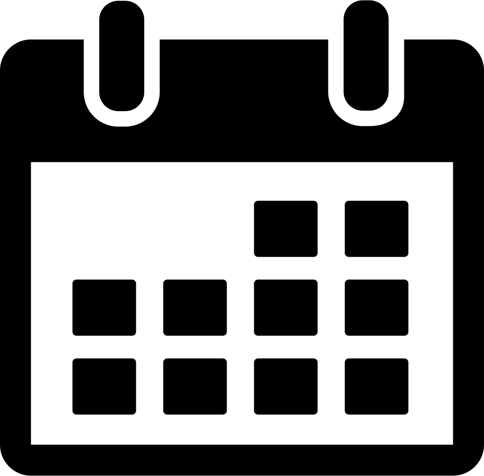 Calendar png. Svg icon free download