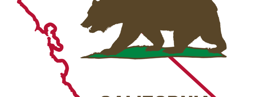 Transparent calif flag. What california employers need