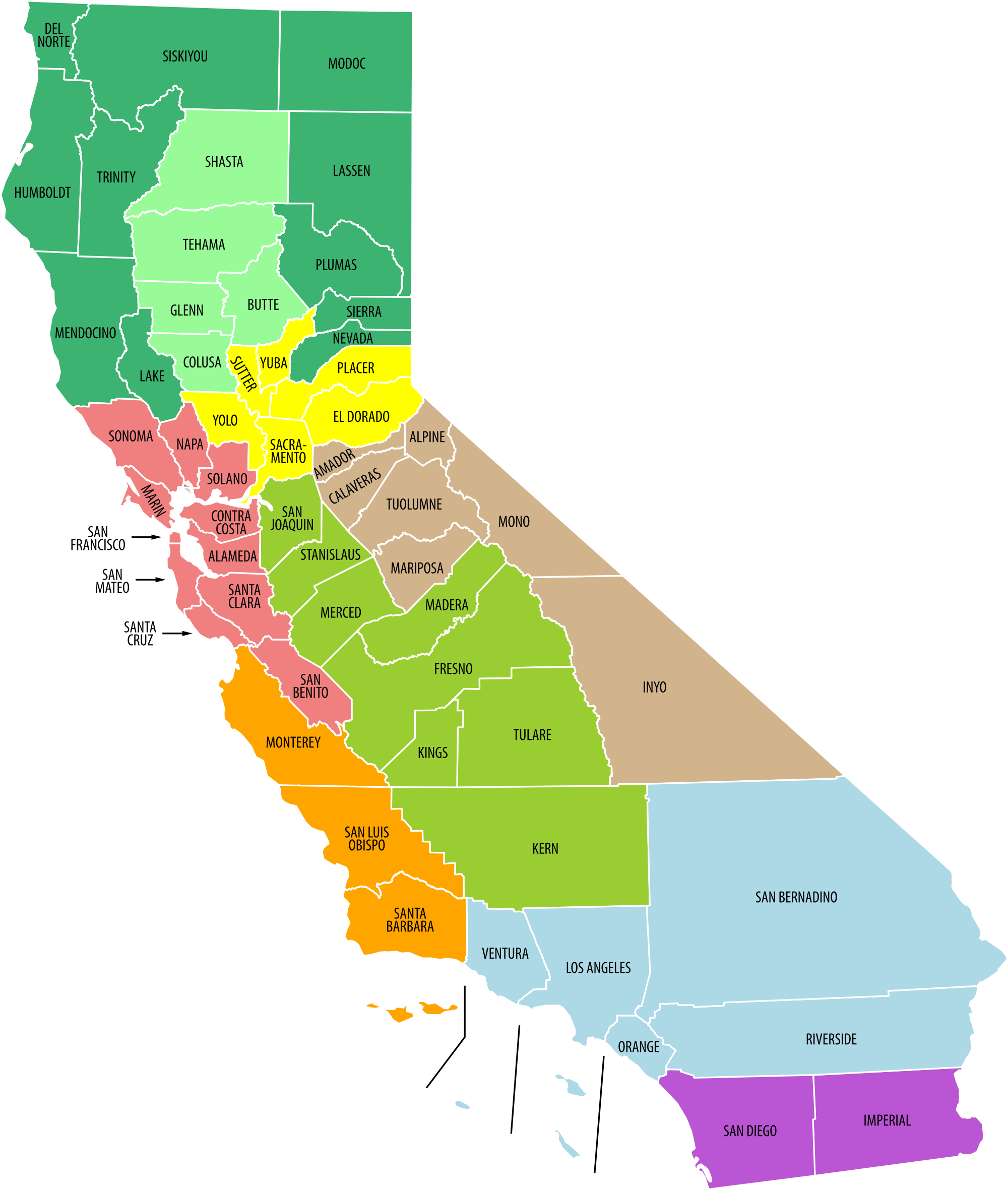 Transparent calif out. Average cost of california