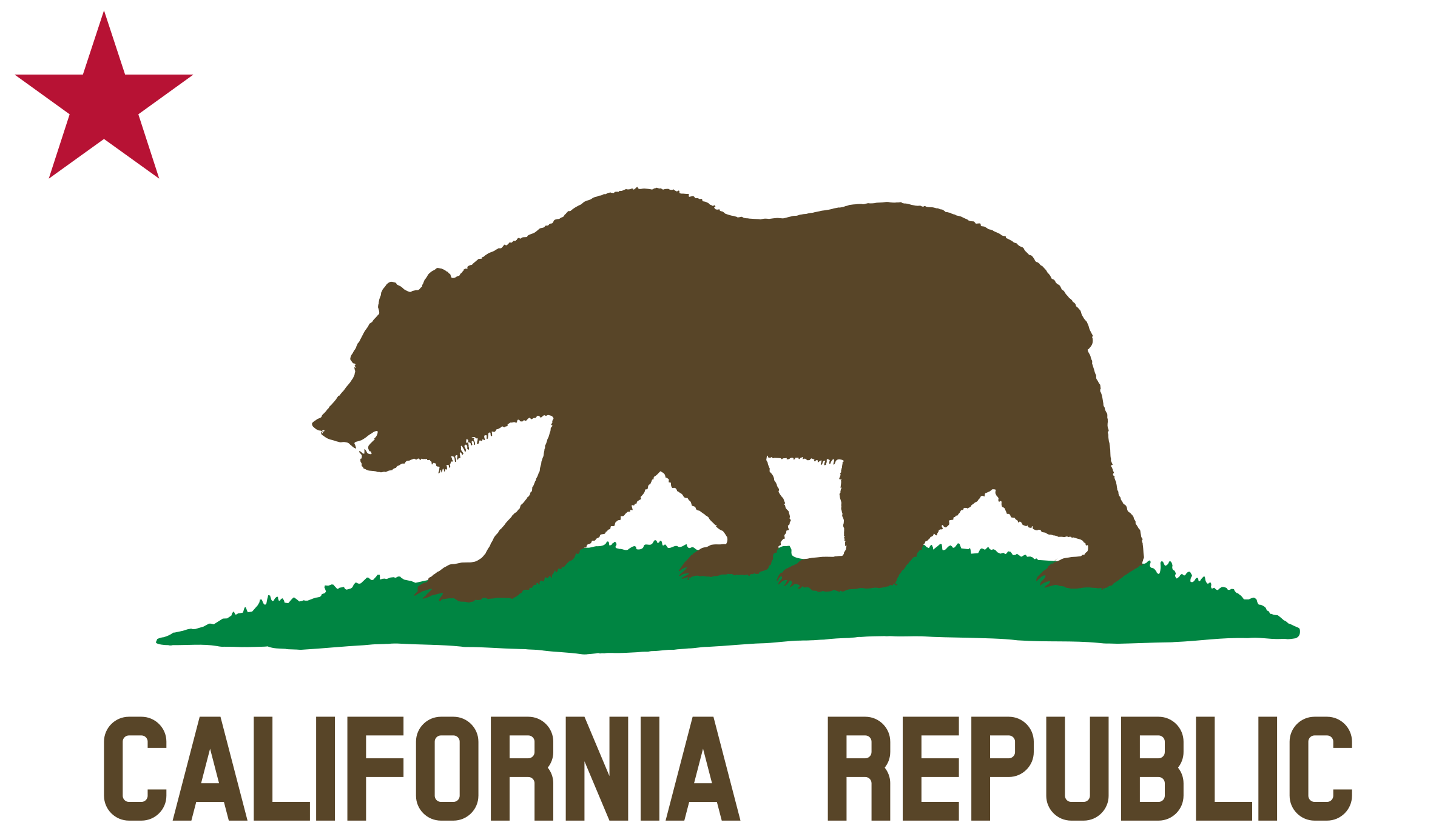 Calif transparent draw. Grizzly clip art