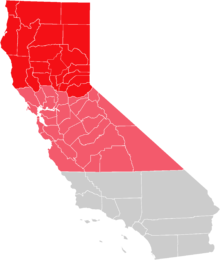 Upstate california wikipedia map. Transparent calif red picture transparent download