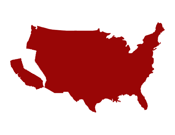 Calif transparent red. Calexit independence movement sees