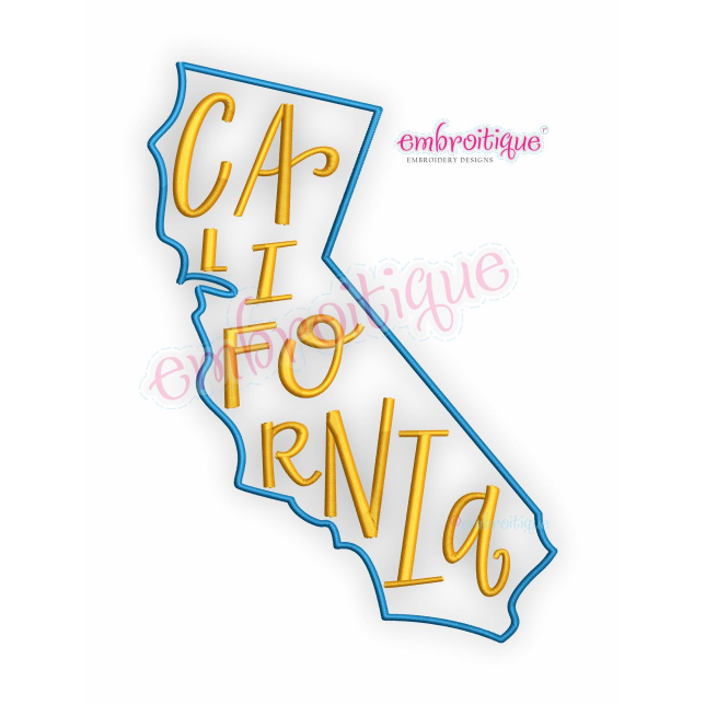 Calif transparent state design. By year created california