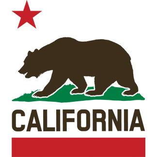 Transparent cali grizzly. Free california bear download