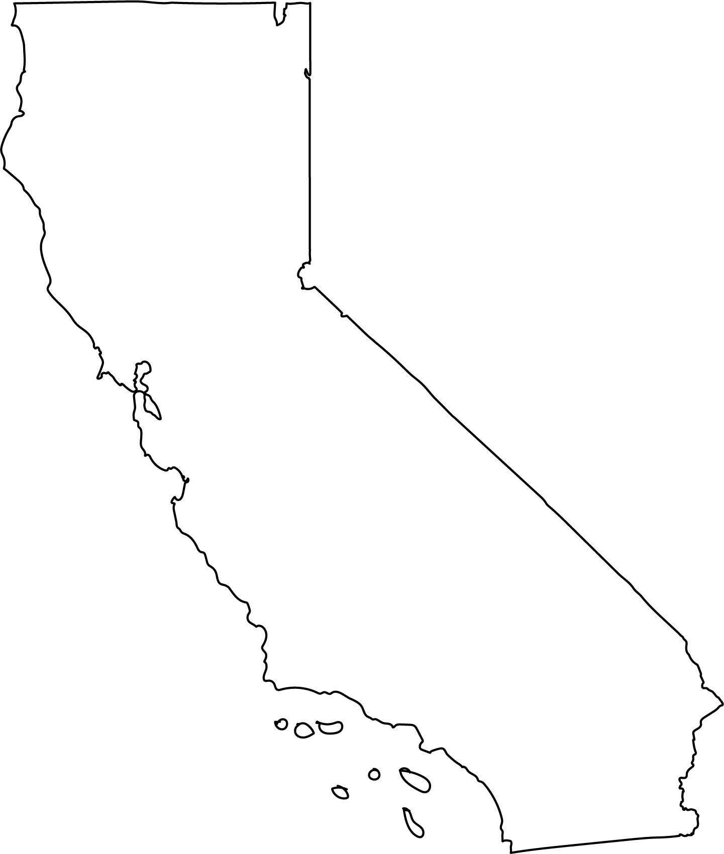 Vector state svg png. California clipart png royalty free