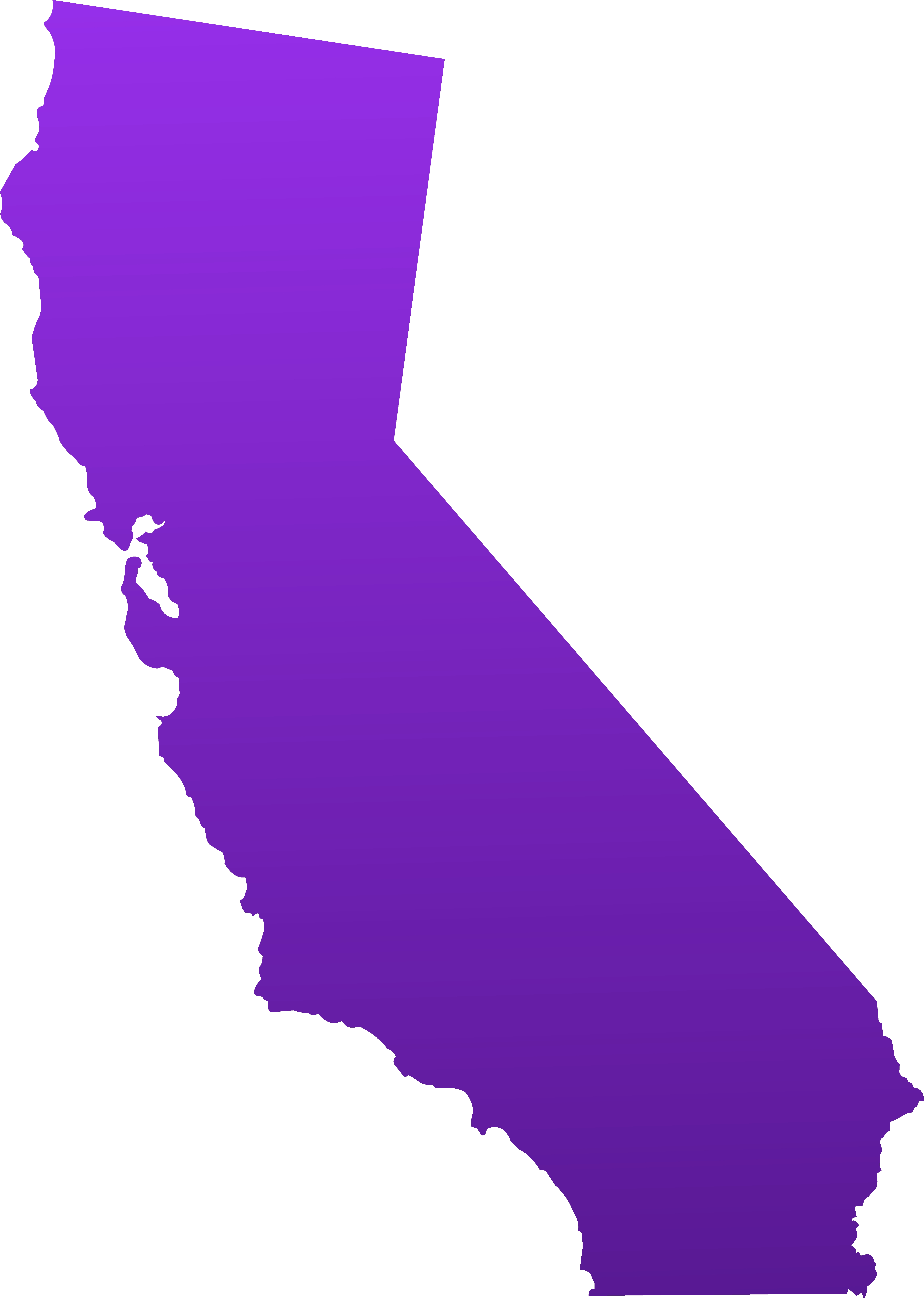 California clipart basic. Awesome collection digital g
