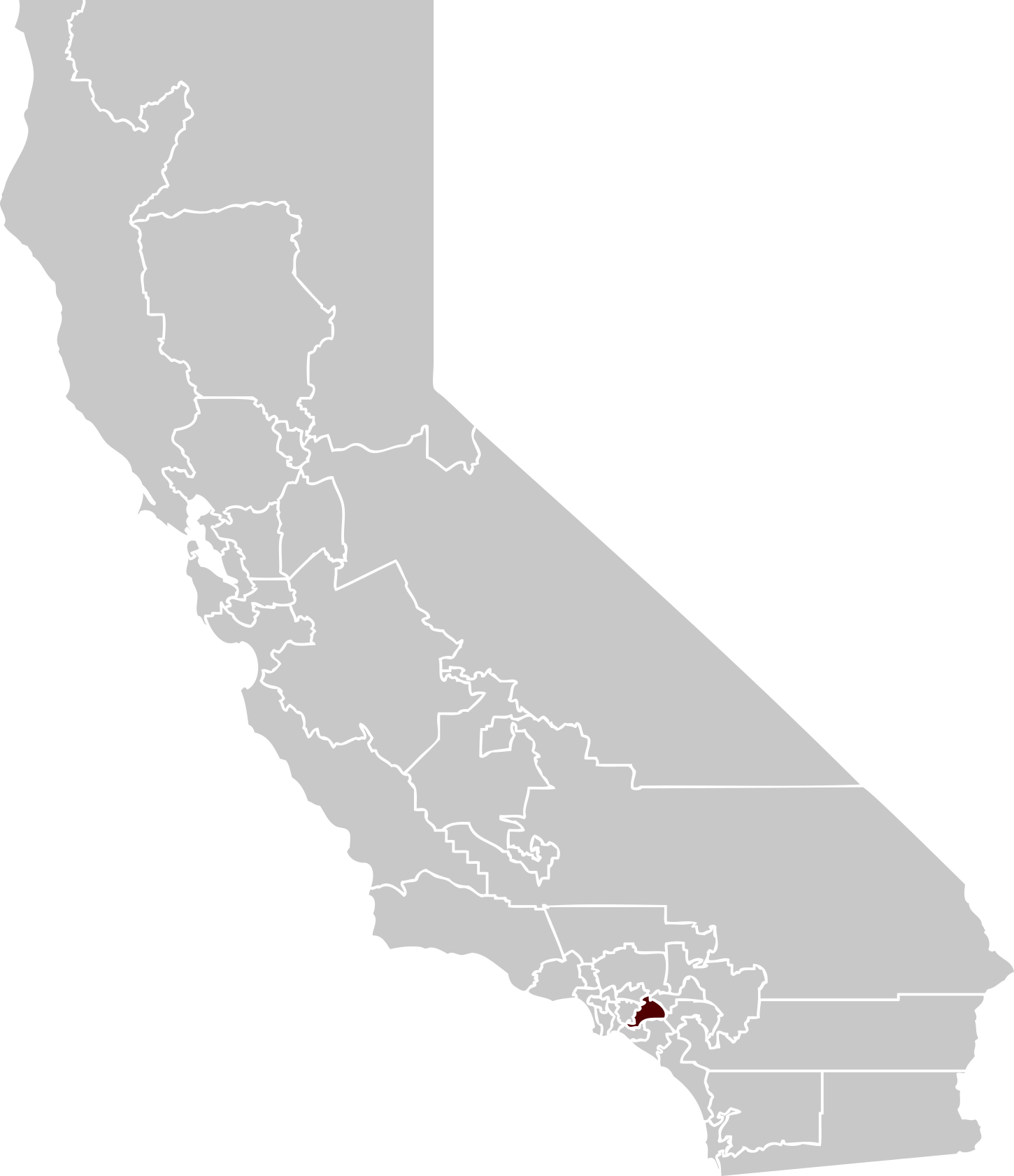 California map png. Image transparentpng