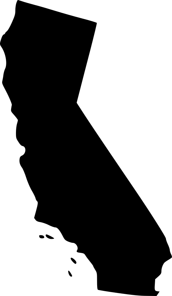 California silhouette png. Svg icon free download
