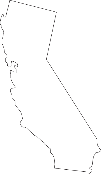 California silhouette png. State at getdrawings com