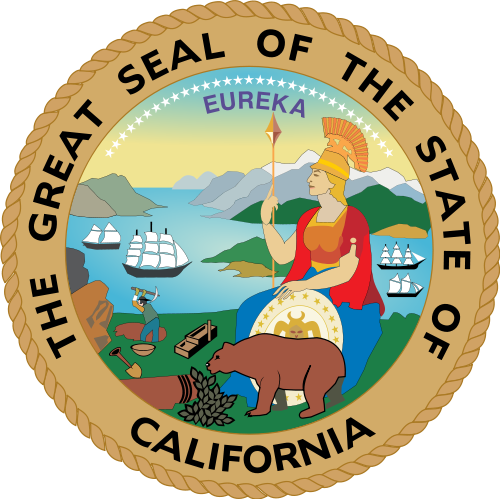 California svg cartoon. Great seal of wikiwand