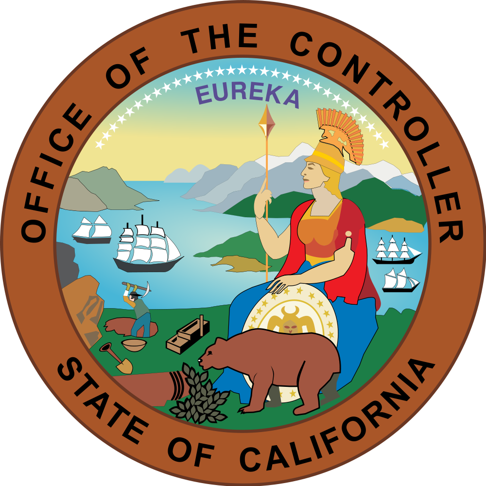 California svg cartoon. File seal of office