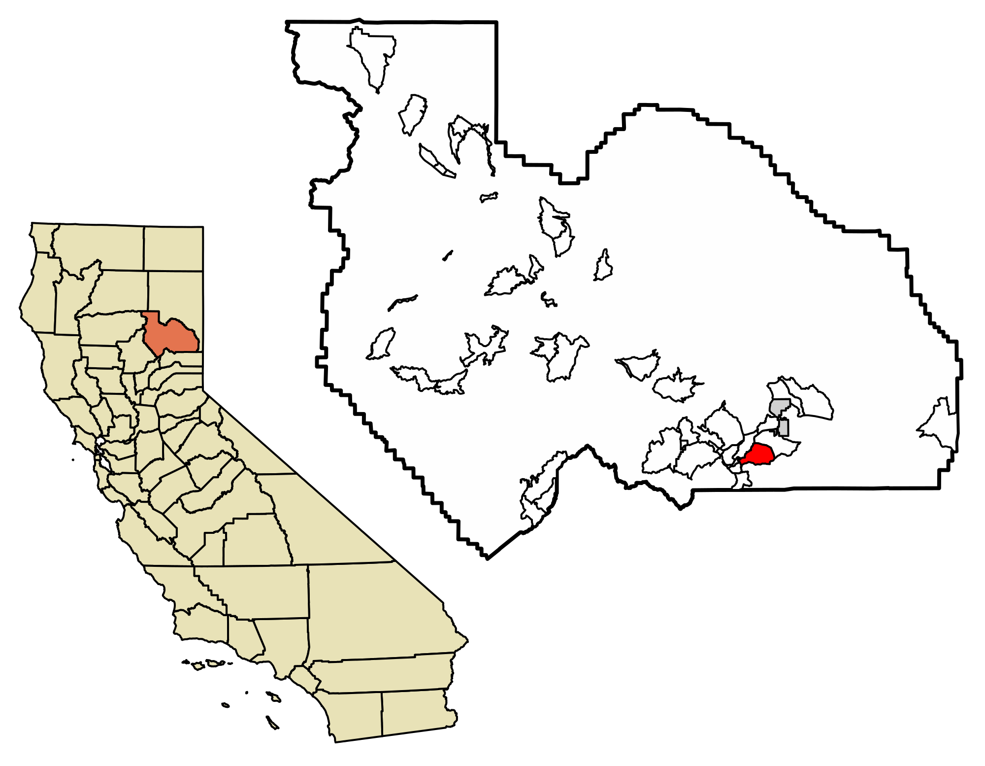 California svg gold. File plumas county incorporated