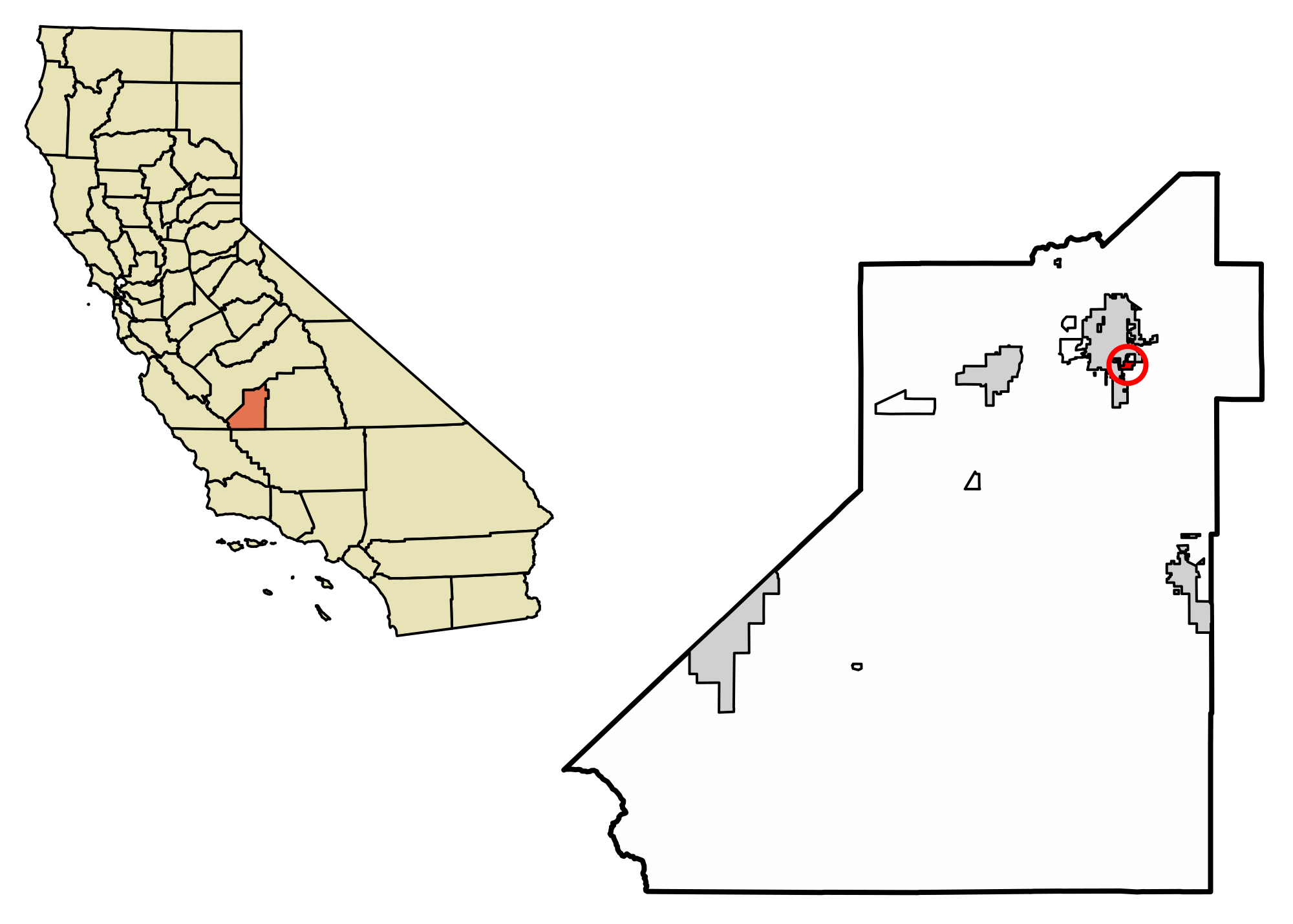 California svg home. File kings county incorporated