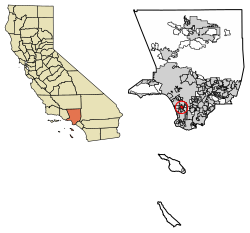 California svg word. Hawthorne wikipedia location of