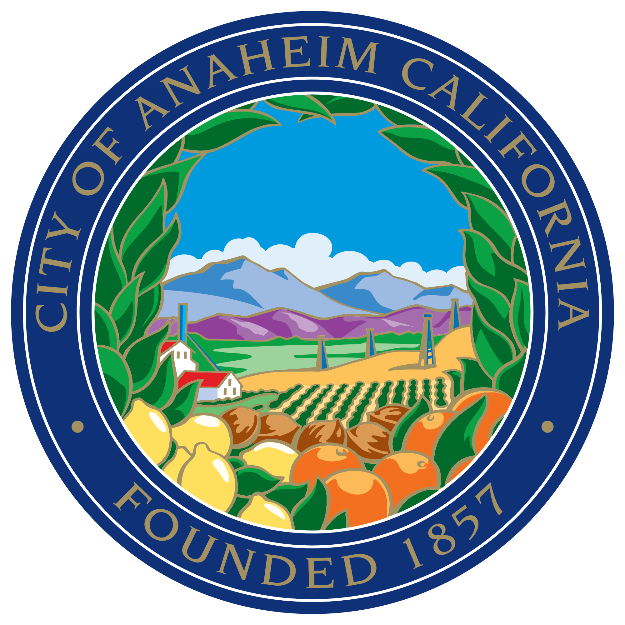 California svg pdf. File seal of anaheim